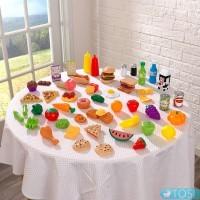 Набор продуктов KidKraft Play Food Set 65 шт