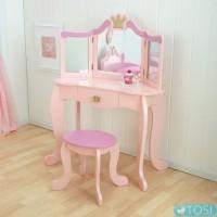 Туалетный столик KidKraft Princess Vanity&Stool