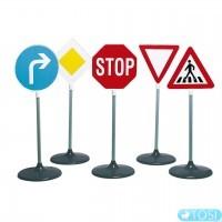 Игровой Набор дорожных знаков Klein 2980, 73 см