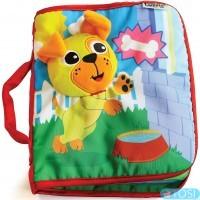 Развивающая игрушка для малышей «Книжечка о щенке» Lamaze