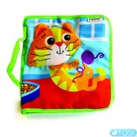 Развивающая игрушка для малышей «Книжечка о котенке» Lamaze