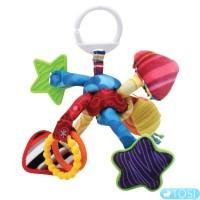 Развивающая подвесная игрушка для малышей Узелок Lamaze