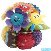 Развивающая мягкая музыкальная игрушка для малышей Цветы в горшке Lamaze