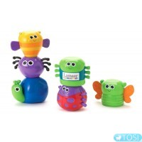 Развивающая игрушка для малышей Жучки-пирамидки Lamaze