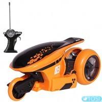 Радиоуправляемый мотоцикл Maisto Tech Cyklone360 82066 orange