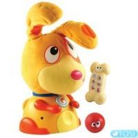 Интерактивная игрушка Ouaps Макс - моя первая собака озвуч. рус. яз.