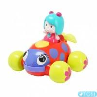 Интерактивная игрушка Ouaps Музыкальная машинка Мими свет, звук