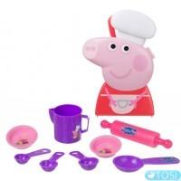 Игровой набор Peppa Кейс шеф-повара Пеппы с аксессуарами