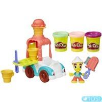 Игровой набор Play-Doh Грузовичок с мороженым