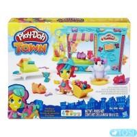 Игровой набор Play-Doh Магазинчик домашних питомцев