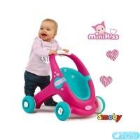 Коляска-ходунки Smoby Mini Kiss 210202