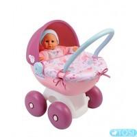 Коляска с люлькой для куклы Baby Nurse Smoby 24668
