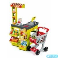 Интерактивный супермаркет с тележкой Smoby 350202