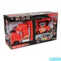 Большой грузовик Mack с автомобилем McQueen Smoby