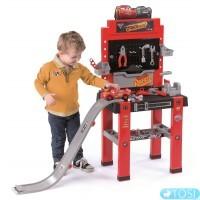 Мастерская с инструментами со спусковой дорогой  Smoby 360713