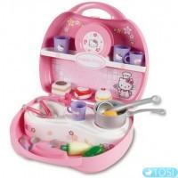 Мини-кухня-кейс Smoby Hello Kitty
