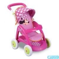 Smoby Коляска для куклы прогулочная Minnie Mouse