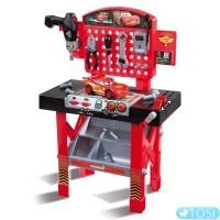 Мастерская инструментов с машинкой игрушечная Тачки2 Cars Smoby