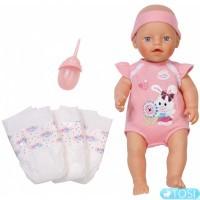 Интерактивная малышка My Little BABY Born Zapf Creation