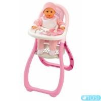 Стульчик для кормления куклы Smoby Hello Kitty с аксессуарами