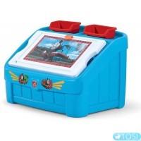 Комод для игрушек Step2 Tomas the Tank Box & Art 8490