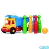 Грузовик с кеглями Wader Multi Truck
