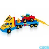 Грузовик с трактором Wader Super Truck