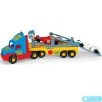 Грузовик с авто ФормулаSuper Truck