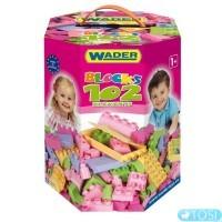 Конструктор Warder 102 ел. (для девочек)