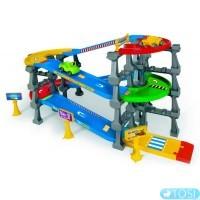 Эстакада 5 уровней Wader Kid Cars 3D  3,7 м