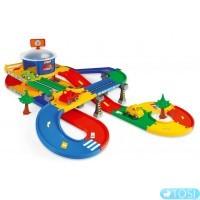 Гараж з трассою Wader Kid Cars 3D 5,5 м