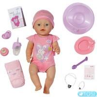 Кукла Baby Born Очаровательная малышка 43 см, с чипом и аксессуарами