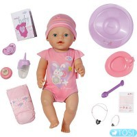 Интерактивный пупс Baby Born Zapf Creation