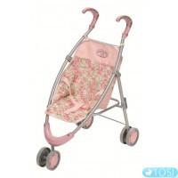 Трехколесная коляска для куклы Baby Annabell прогулочная, складная