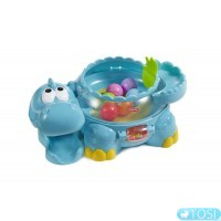 Развивающая игрушка Динозавр Дино Fisher Price Go Baby Go Poppity Pop W1392