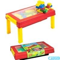 """Конструктор """"Игровой стол с выдвижными ящичками"""" Unico Plus 8552"""