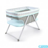 Колыбель Bright Starts FoldAway Rocking Bassinet