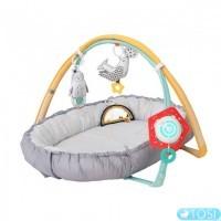 Развивающий коврик-кокон 4в1 Taf Toys Уютное гнездышко