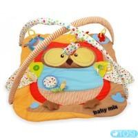 Коврик с дугами Baby Mix Сова TK/3300С