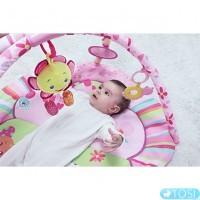 Детский развивающий коврик Розовое Солнышко BabyOno 1153