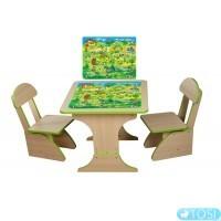 Игровой столик и два стульчика Fineks+ Игра