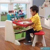 Детский стол со стулом и доской для творчества Step2 Flip&Doodle