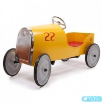 Ретро автомобиль на педалях Baghera Goldini Pedal Car 1925