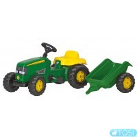 Трактор на педалях Rolly Toys Kid John Deere 12190