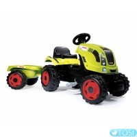 Трактор на педалях Farmer XL Smoby 710114
