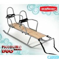Санки для двойни Adbor Piccolino Xdrive duo