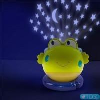 Лампа-проектор с музыкой Лягушка Bright Starts 52031