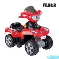 Квадроцикл Feber Quad Ferrari 6V 06762