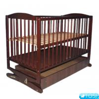 Кроватка KLUPS RADEK II  качалка с ящиком