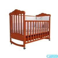 Детская кроватка Верес Соня ЛД11 с резьбой